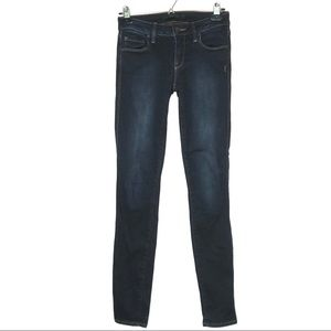 Genetic Denim Dark Wash Shya Cigarette Jeans - 25